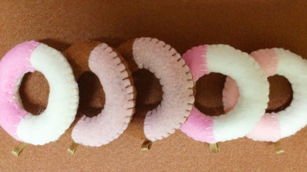 蛋糕飾品-甜甜圈系列