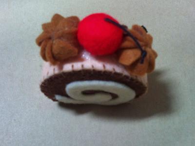 蛋糕飾品-瑞士捲