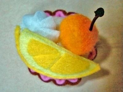蛋糕飾品-檸檬櫻桃塔