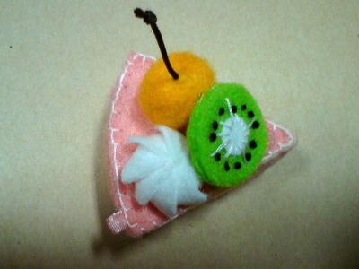 蛋糕飾品-櫻桃奇異果蛋糕