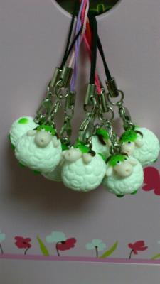吊飾-小羊吊飾