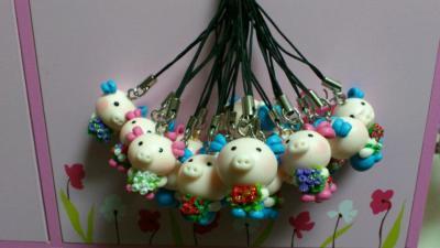 吊飾-小豬吊飾