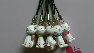 吊飾-小花貓吊飾