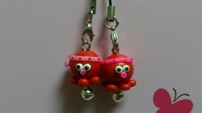 吊飾-小章魚吊飾